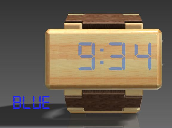 Wooden watch projects