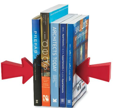 Signal magnetic bookends