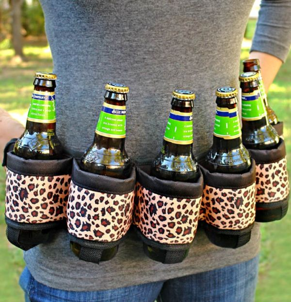 Deluxe Six-Pack Beer Belt
