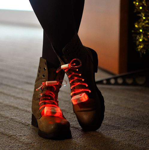 Flashing/Glowing LED Shoelaces
