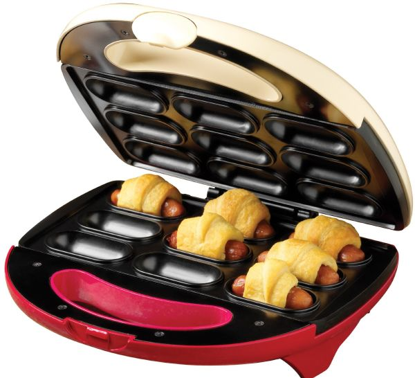 Nostalgia Electrics Pigs in a Blanket & Appetizer Bites Maker