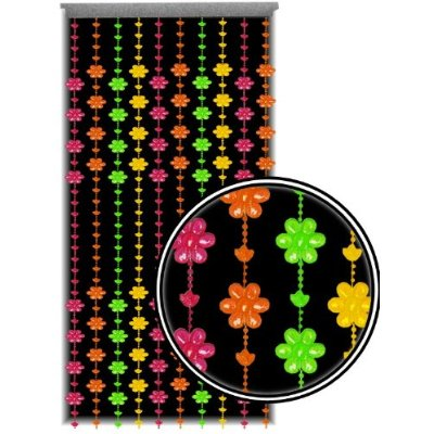 Curtain Blacklight Reactive