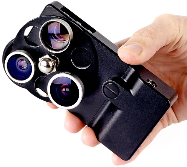 iPhone camera lens dial case