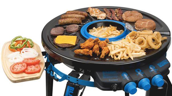 Hub Grill-Fryer
