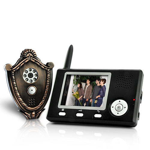 Wireless Video Door Phone + Automatic Door Opener