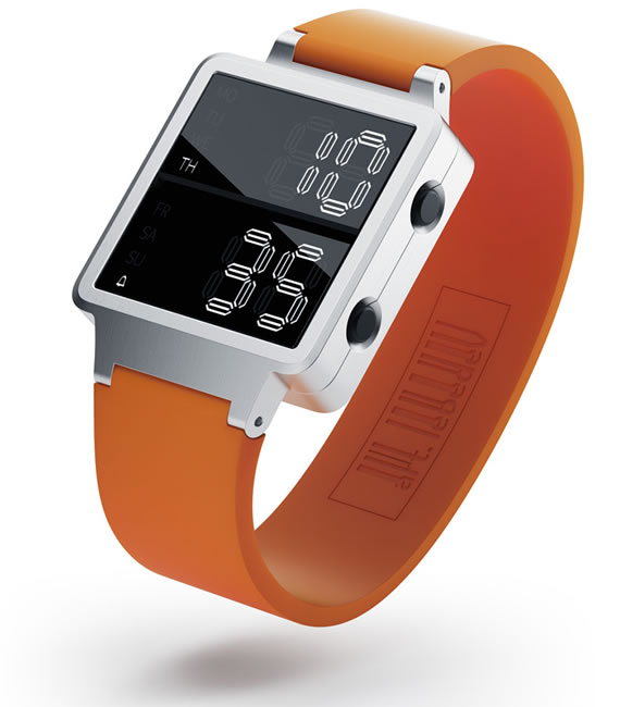 Digital Watch Concept