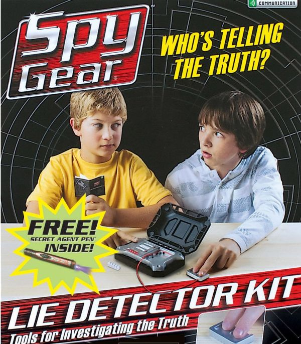 Cyber monday: Spy Gear Lie Detector Kit