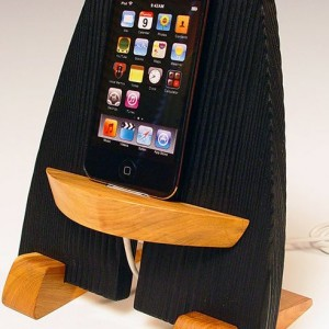 iPhone wooden
