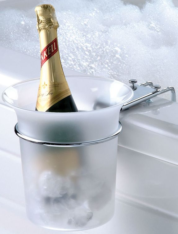 Bathtub Champagne Chiller