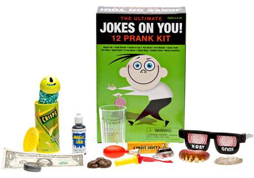 JOKES ON YOU!