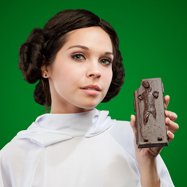 Star Wars Han Solo Carbonite Chocolate Bar