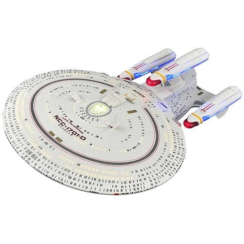 Star Trek All Good Things USS Enterprise D Ship