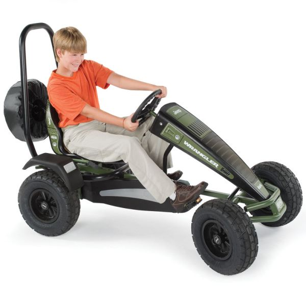 Terrain Jeep Pedal Car
