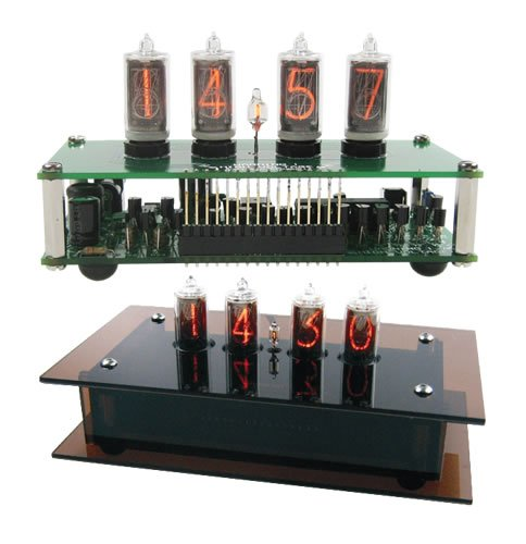 Compact Nixie Tube Clock Kit