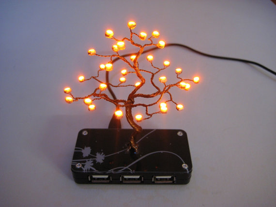 bonsai tree USB HUB