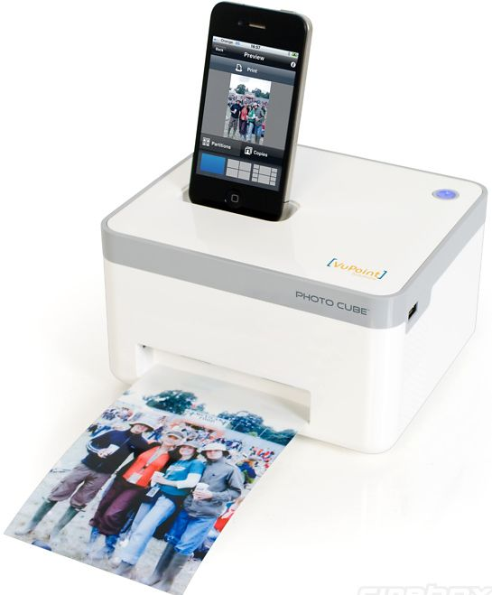 Photo Cube Smartphone Printer
