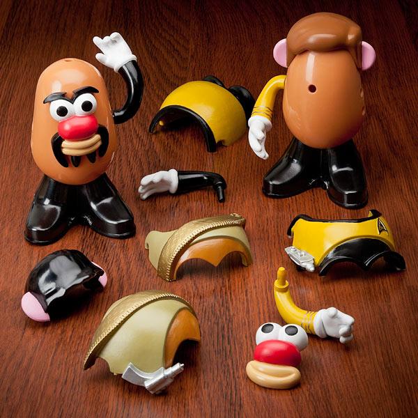 Star Trek Potato Heads