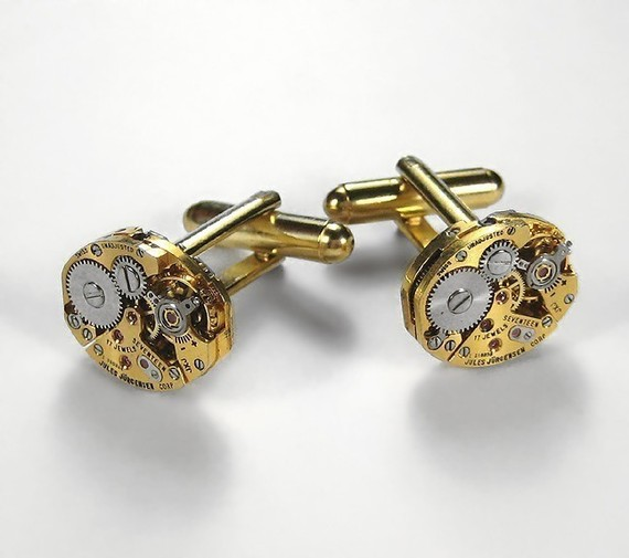 LUXURY Steampunk Cufflinks
