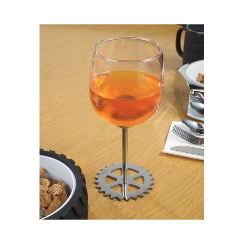 Wrenchware Gear Sprocket Wine Glass