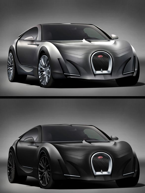 The Bugatti Super-Sedan