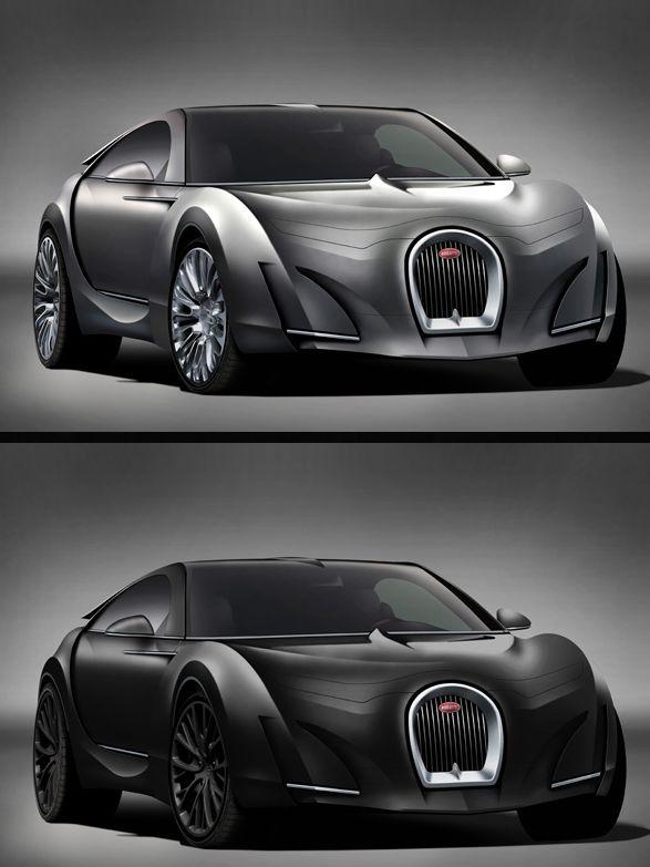 The Bugatti Super-Sedan