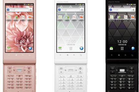 Sharp and KDDI AQUOS Phone IS14SH
