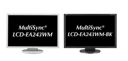 "NEC introduces a new pair of WUXGA 24"" LED displays"