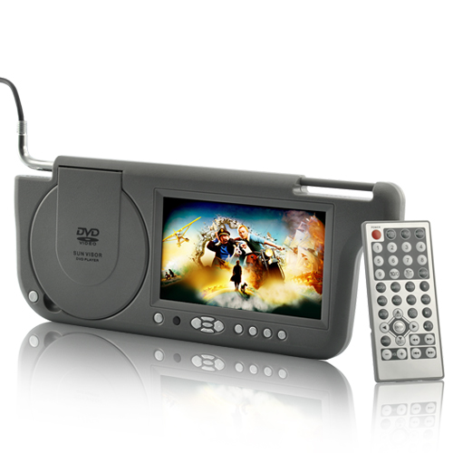 7 Inch Sun Visor DVD Player