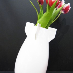 Peaceful Bomb Vase