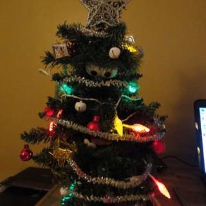 Animatronic Talking Christmas Tree