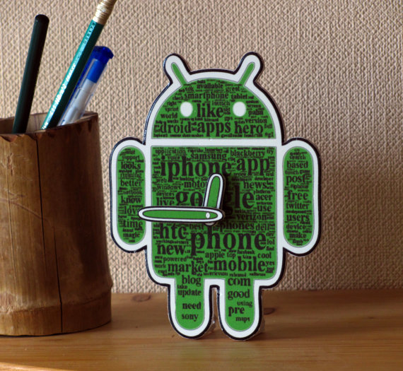 Android Icon Table Clock