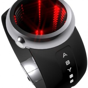 Abyss on your Wrist with Mirrors and LEDs