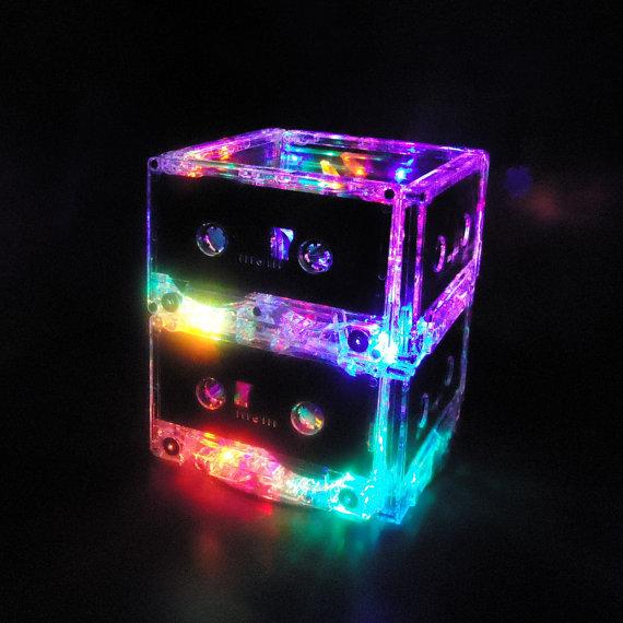 Cassette Tape Night Light Lamp