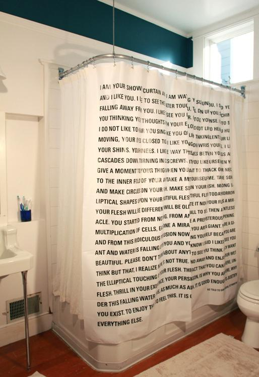 Issue 16 shower curtain