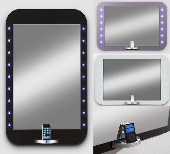 E-Mirror iPod & iPhone dock
