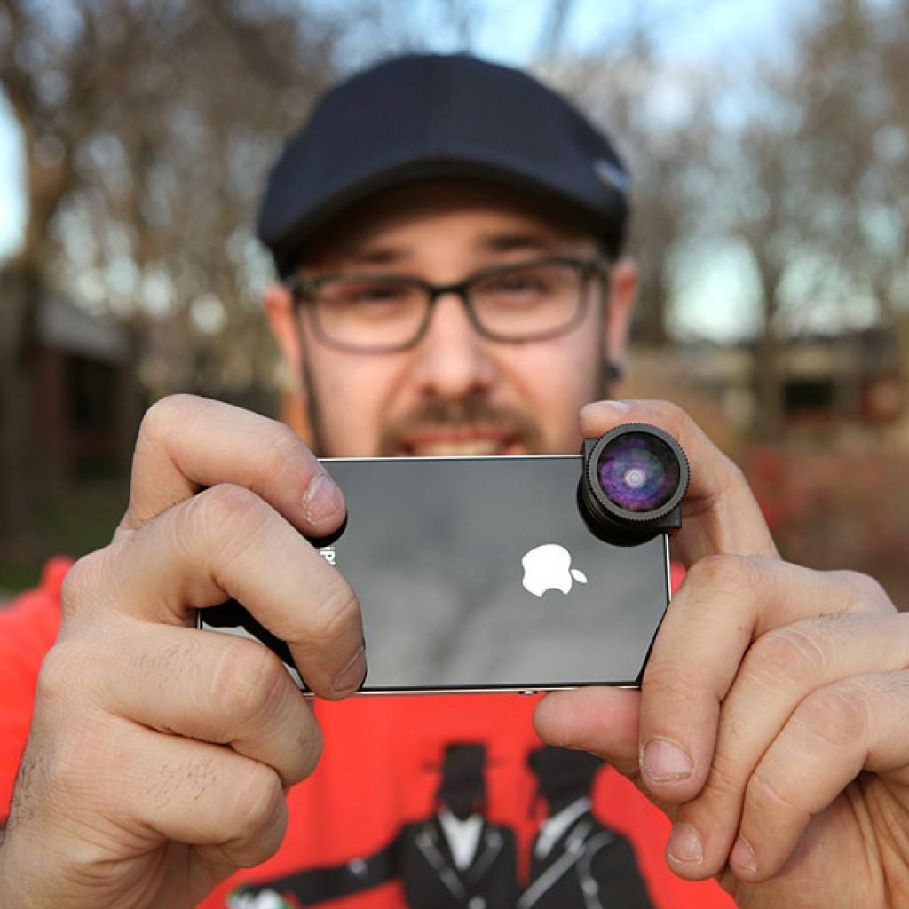 Делать фото с эффектами на камеру