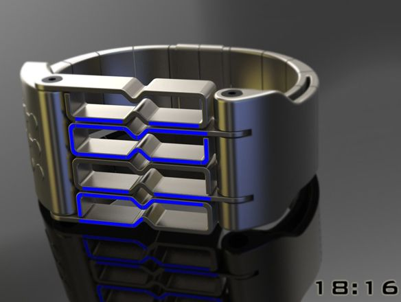 A Watch Design For Bio-Mechanically Enhanced Humans