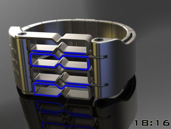 A Watch Design For Bio-Mechanically Enhanced Humans