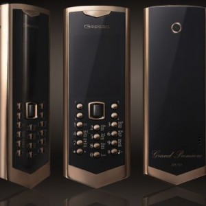Avant-garde Grand Premiere phone for $50k