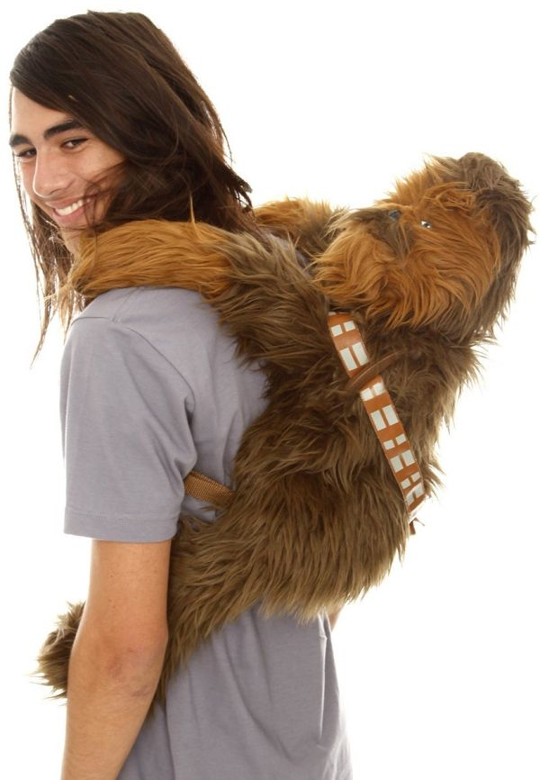 Star Wars Chewbacca Plush Backpack