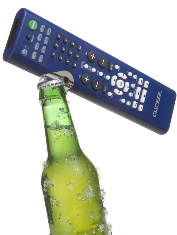 Bottle-Opening Universal Remote