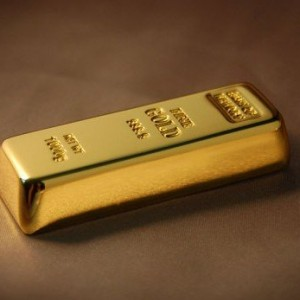 8gb Gold Bar flash drive Usb Flash