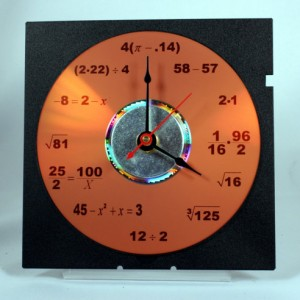 Math Equation Clock