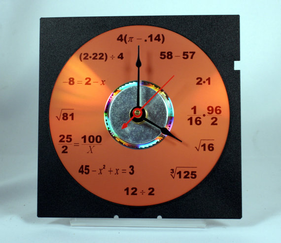 Math Equation Clock
