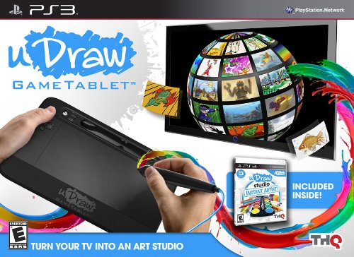 uDraw Gametablet with uDraw Studio