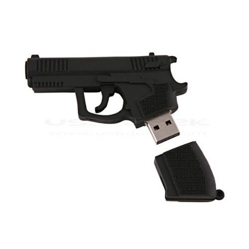 8 GB gun handgun shap USB Flash