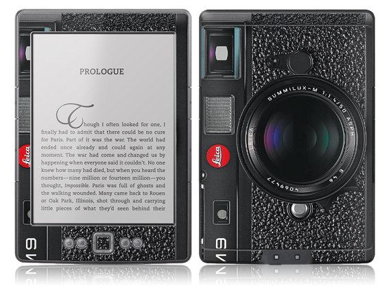 Amazon New Kindle Skin Cover - Retro Leica M9 Vintage Camera