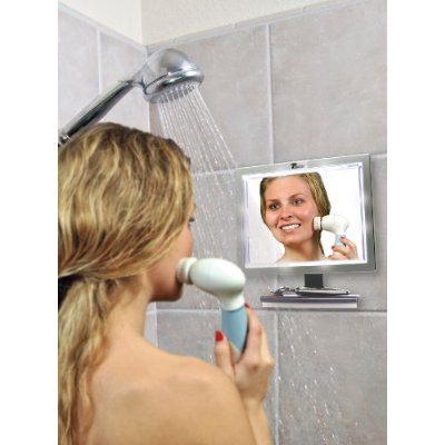 Deluxe LED Fogless Shower Mirror