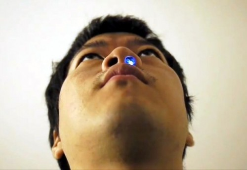 LED Nostril Glows