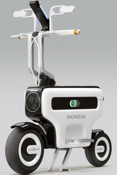 Honda motor electric scooter